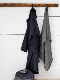 Lapuan Kankurit Dark Grey Terva Bathrobe Linen Father's Day