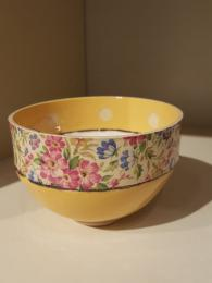 Virginia Graham Ceramic Bowl Floral