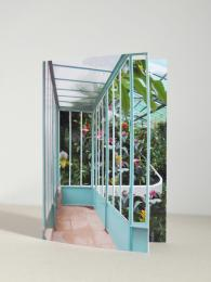 Window Card Tropical greetings card